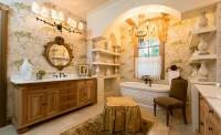 15 Beautiful Mediterranean Bathroom Designs   Home Design ...
