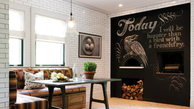 living rooms decorated by joanna gaines room country colors chalkboard accents in 15 dining spaces | home design ...