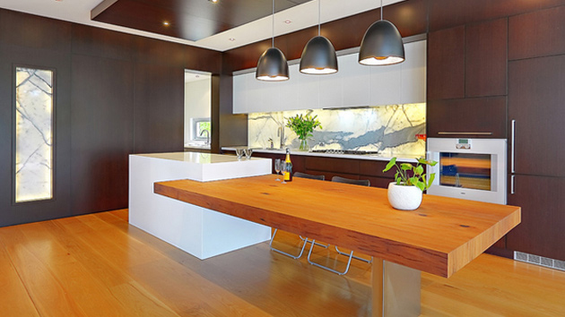 kitchen island and table exhaust 15 beautiful with attached home design lover
