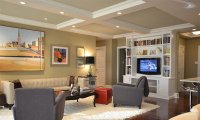 Coffered Ceilings in 15 Contemporary Living Rooms | Home ...