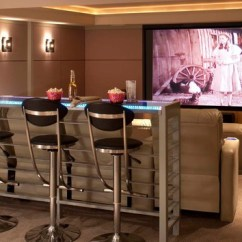 Theater Living Room Furniture Floor Pillow 15 Interesting Media Rooms And Theaters With Bars | Home ...