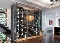 15 Sleek Ideas for Modern Wine Cellars | Home Design Lover