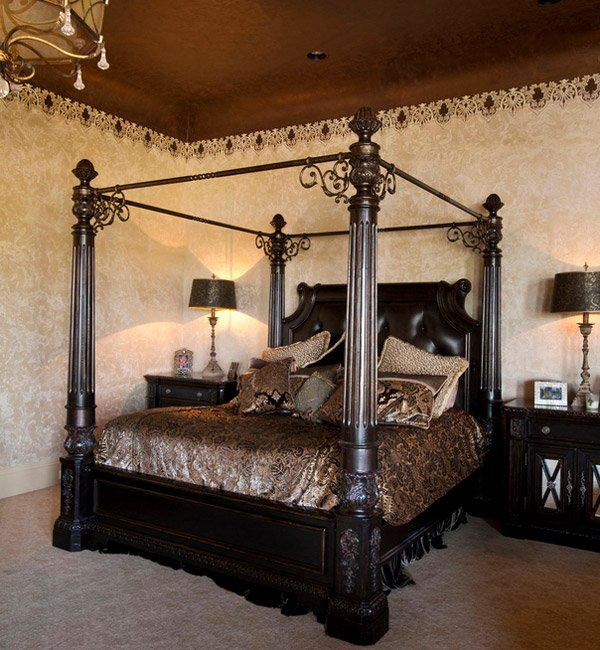 Take your beauty sleep to the next level with these dreamy bedroom design ideas. 15 Gorgeous Gothic Bedroom Ideas   Home Design Lover