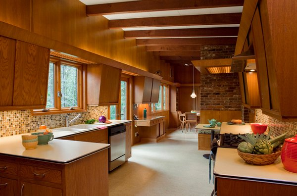 15 Marvelous Midcentury Kitchen Designs  Home Design Lover