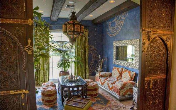 15 Outstanding Moroccan Living Room Designs  Home Design