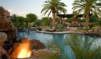 15 Relaxing and Dramatic Tropical Pool Designs | Home ...