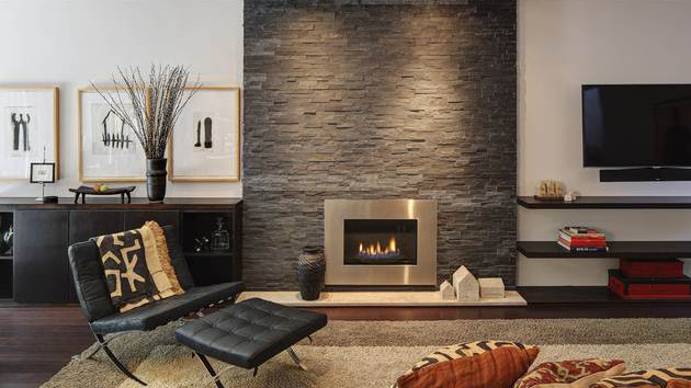 wallpaper ideas for living room feature wall designs of a twist old brick fireplaces in 15 modern and ...