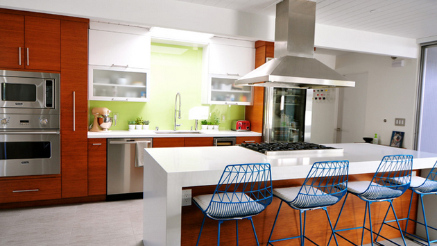 chairs for small spaces ballard designs dining 15 marvelous mid-century kitchen | home design lover
