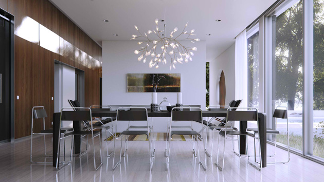 Glass Walls in 15 Modern Dining Areas  Home Design Lover