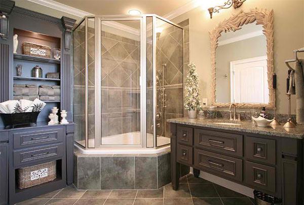 15 Bathrooms With Granite Countertops Home Design Lover