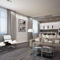 Modern Gray Living Room El Dorado Furniture Sets 15 White And Ideas Home Design Lover Rooms