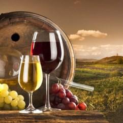 Grapes And Wine Kitchen Decor Wallpaper 15 Homey Grape Decors | Home Design Lover