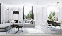 15 Modern White and Gray Living Room Ideas | Home Design Lover