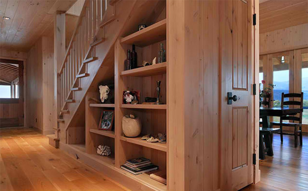 15 Ideas for Spacesaving Under Staircase Shelves  Home