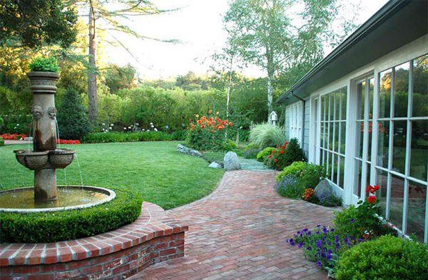 ideas landscaping with bricks