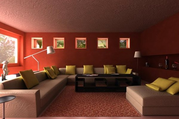 15 Mesmerizing Maroon Living Room Walls  Home Design Lover