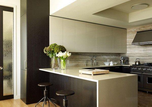 17 Beautiful Contemporary UShaped Kitchen Layouts  Home