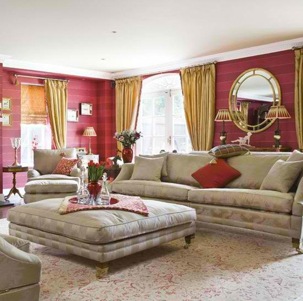 living room designs with grey walls flowers for 15 mesmerizing maroon | home design lover