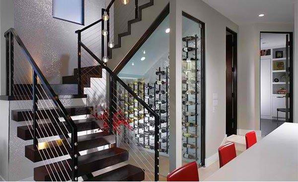 15 Space Savvy Under Stairs Wine Cellar Ideas  Home Design Lover