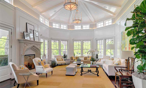round area rug in living room storage ottoman 15 mansion ideas overflowing with ...