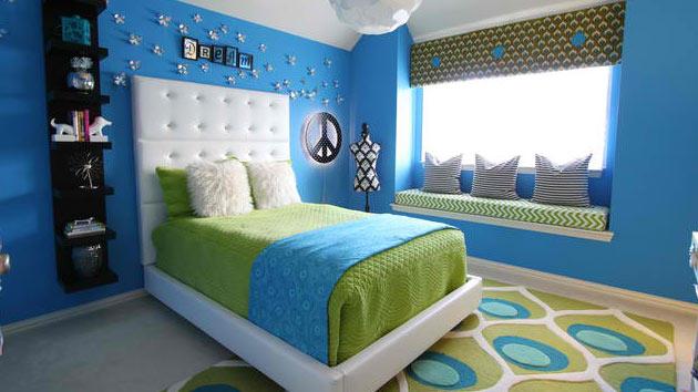 15 Killer Blue And Lime Green Bedroom Design Ideas Home Design Lover