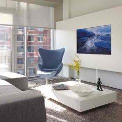 Condo Interior Design Ideas Living Room Wall Decor For Rooms 15 Tv Built-in Media In Modern ...