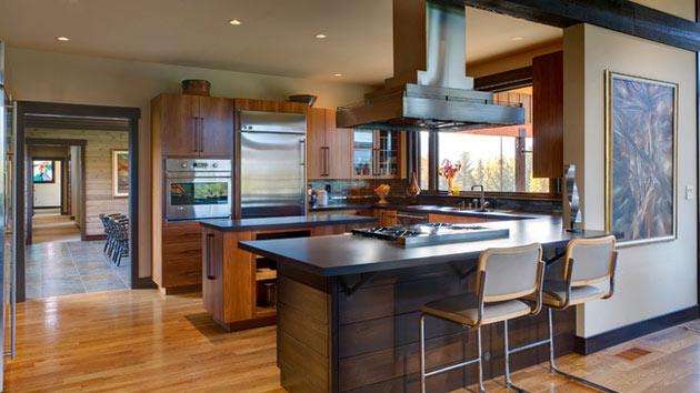 17 Beautiful Contemporary U Shaped Kitchen Layouts Home