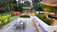 15 Contemporary Backyard Patio Designs | Home Design Lover
