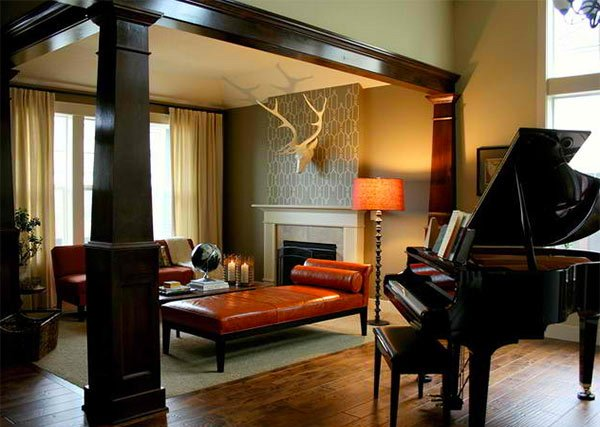 15 Grand Piano Setups in Traditional Living Rooms  Home