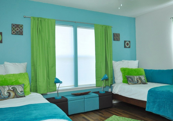 short kitchen curtains professional home appliances 15 lovely tropical bedroom colors | design lover