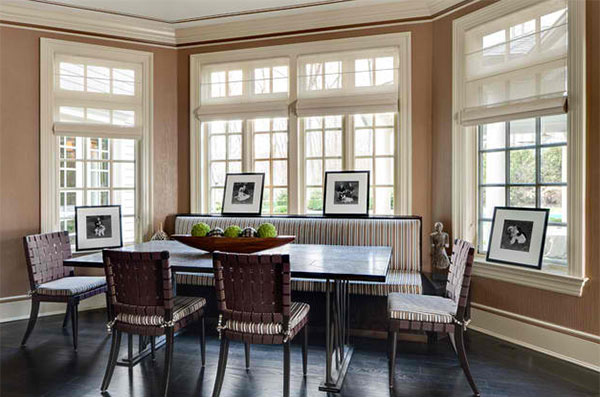 15 Ideas in Designing Dining Rooms with Bay Window