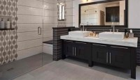 Black Cabinet Designs in 15 Bathroom Spaces