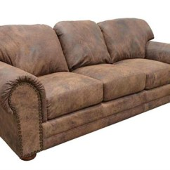 Modern Brown Leather Sofa Chelsea Faux Futon Bed Black 15 Designs For Rustic Style Living Rooms | Home ...