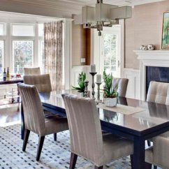 Kitchen Curtains For Bay Windows Aid Gas Cooktop 15 Ideas In Designing Dining Rooms With Window | Home ...