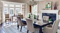 15 Ideas in Designing Dining Rooms with Bay Window | Home ...