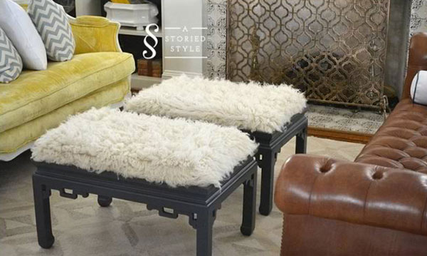 Create Beautiful DIY Ottomans In 15 Easy Ways Home