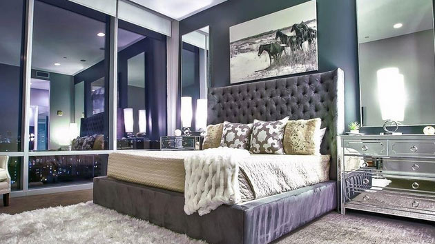 15 Sample Photos of Decorating with Mirrored Furniture in the Bedroom  Home Design Lover