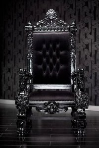 Dark King On Throne