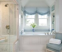 20 Designs for Bathroom Window Treatment