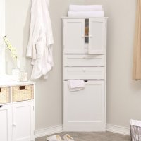 20 Corner Cabinets to Make a Clutter