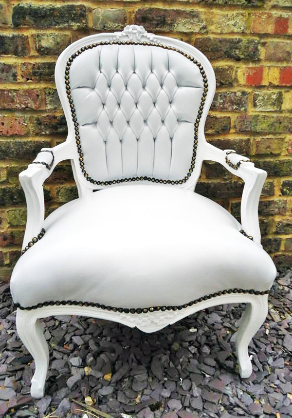 revolving dining chair folding shopee 20 neat and sophisticated white living room chairs | home design lover