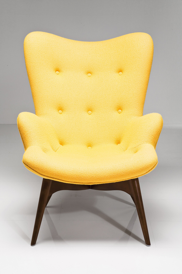 innit acapulco chair casters for hardwood floors 20 fascinating yellow living room chairs | home design lover