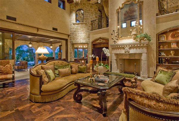 living room chair setup traditional style furniture 20 luxurious design of a mediterranean | home ...