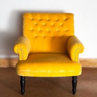 Living Room Chairs Yellow