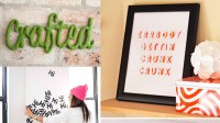 Say It with 20 Typography Wall Art Decors   Home Design Lover