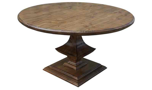 wooden pedestal coffee table bases