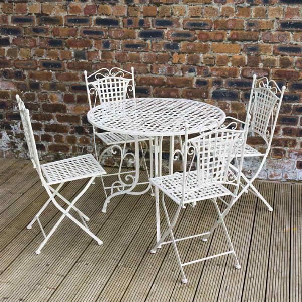 functional metal outdoor furniture