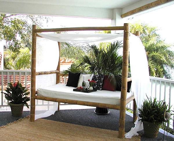 20 Fascinating Bamboo Canopy Beds and Daybeds  Home