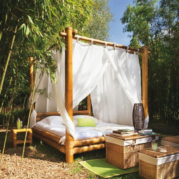 20 fascinating bamboo canopy beds and