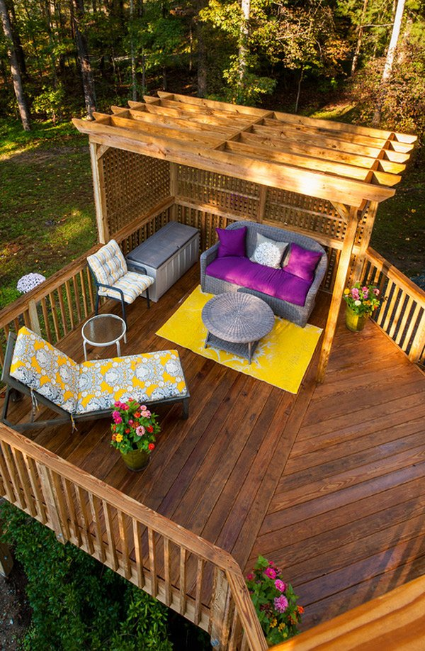 20 Timber Decking Designs that can Append Beauty of your Homes  Home Design Lover